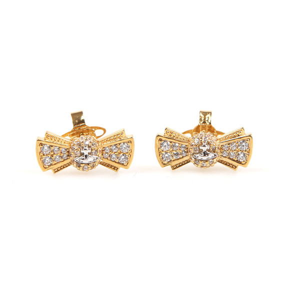 Vivienne Westwood Womens Gold Pamela Small Earrings main image