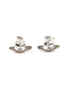 Vivienne Westwood Womens Silver Solid Orb Earring