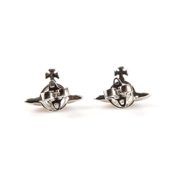 Vivienne Westwood Womens Silver Solid Orb Earring main image