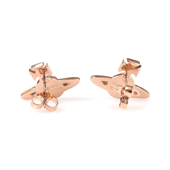 Vivienne Westwood Womens Bronze Harlequin Bas Relief Earring main image