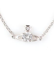 Vivienne Westwood Womens Silver Reina Small Bracelet