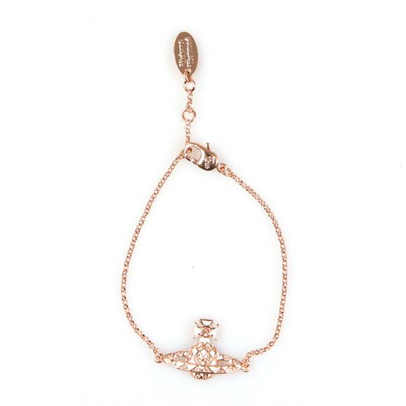 Vivienne Westwood Womens Bronze Harlequin Bas Relief Bracelet main image