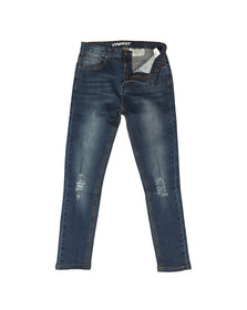 Always Rare Mens Blue Vincent Carrot Jean