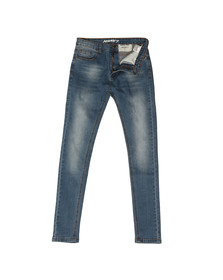 Always Rare Mens Blue Mickey Spray Jean