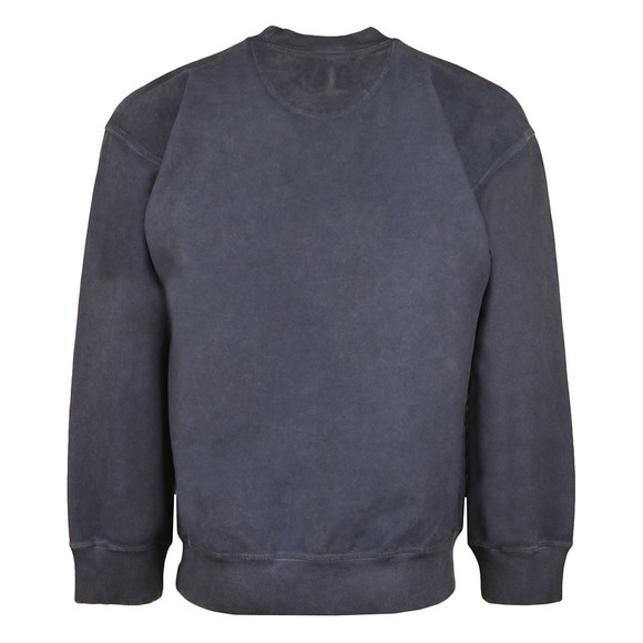 Vivienne Westwood Anglomania Mens Blue Arm & Cutlass Print Square Sweat main image