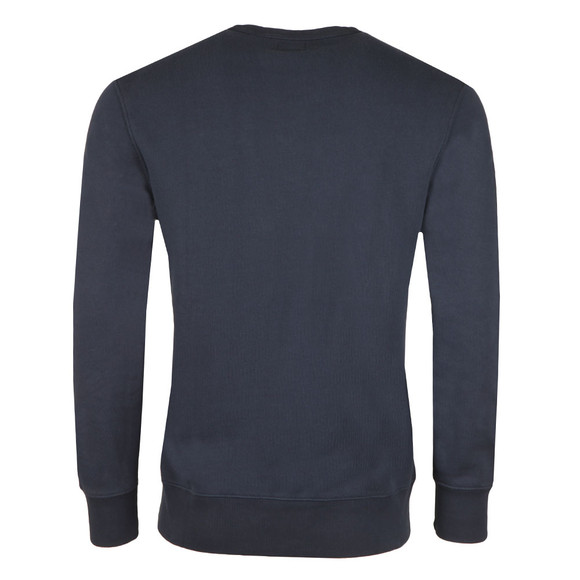 Levi's Mens Blue Batwing Logo Sweatshirt main image