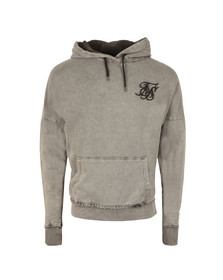 Sik Silk Mens Grey Drop Shoulder Overhead Hoodie