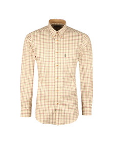 Barbour Sporting  Mens Red Tattersall L/S Shirt