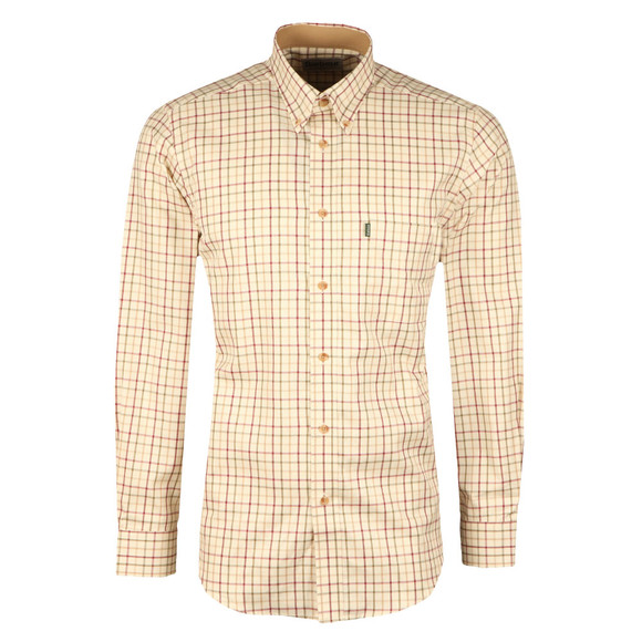Barbour Sporting  Mens Red Tattersall L/S Shirt main image