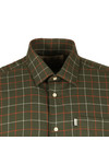 Barbour Countrywear Mens Green L/S Brampton Shirt