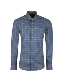 Barbour Countrywear Mens Blue L/S Brampton Shirt