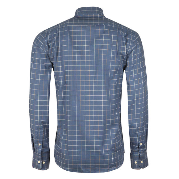 Barbour Countrywear Mens Blue L/S Brampton Shirt main image