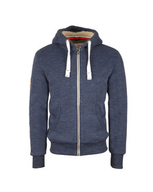 Superdry Mens Blue Orange Label Winter Ziphood