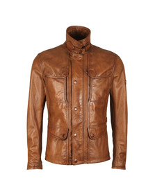 Matchless Mens Brown Kensington Evolution Jacket