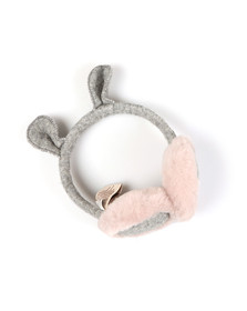 Ugg Girls Grey Novelty Wool Earmuffs