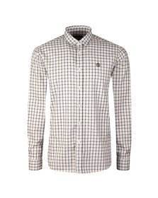 Henri Lloyd Mens Blue L/S Tynham Oxford Shirt