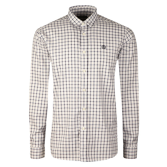 Henri Lloyd Mens Blue L/S Tynham Oxford Shirt main image