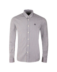 Henri Lloyd Mens Blue L/S Ragnall Gingham Shirt