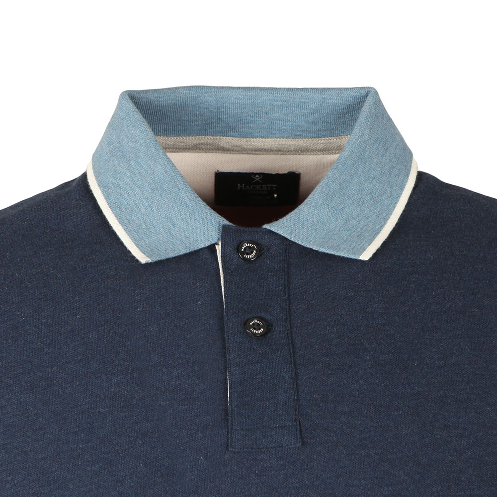 S/S Mix Panel Polo main image