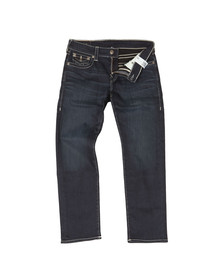 True Religion Mens Blue Geno With Flap Jean
