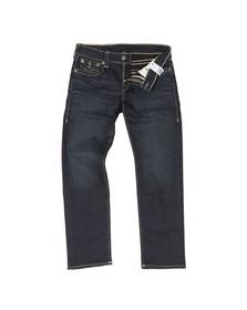 True Religion Mens Blue Geno With Flap Jean