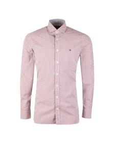 Hackett Mens Multicoloured 2 Colour Gingham LS Shirt