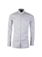 2 Colour Gingham LS Shirt