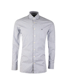 Hackett Mens Multicoloured 2 Colour Gingham LS Shirt