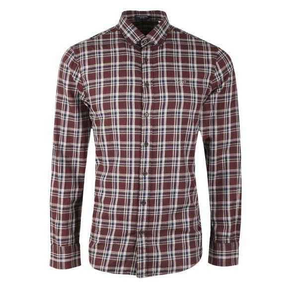 Gant Mens Multicoloured Nordic Multi Plaid LS Shirt
