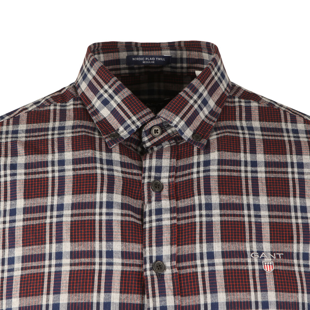 Nordic Multi Plaid LS Shirt main image