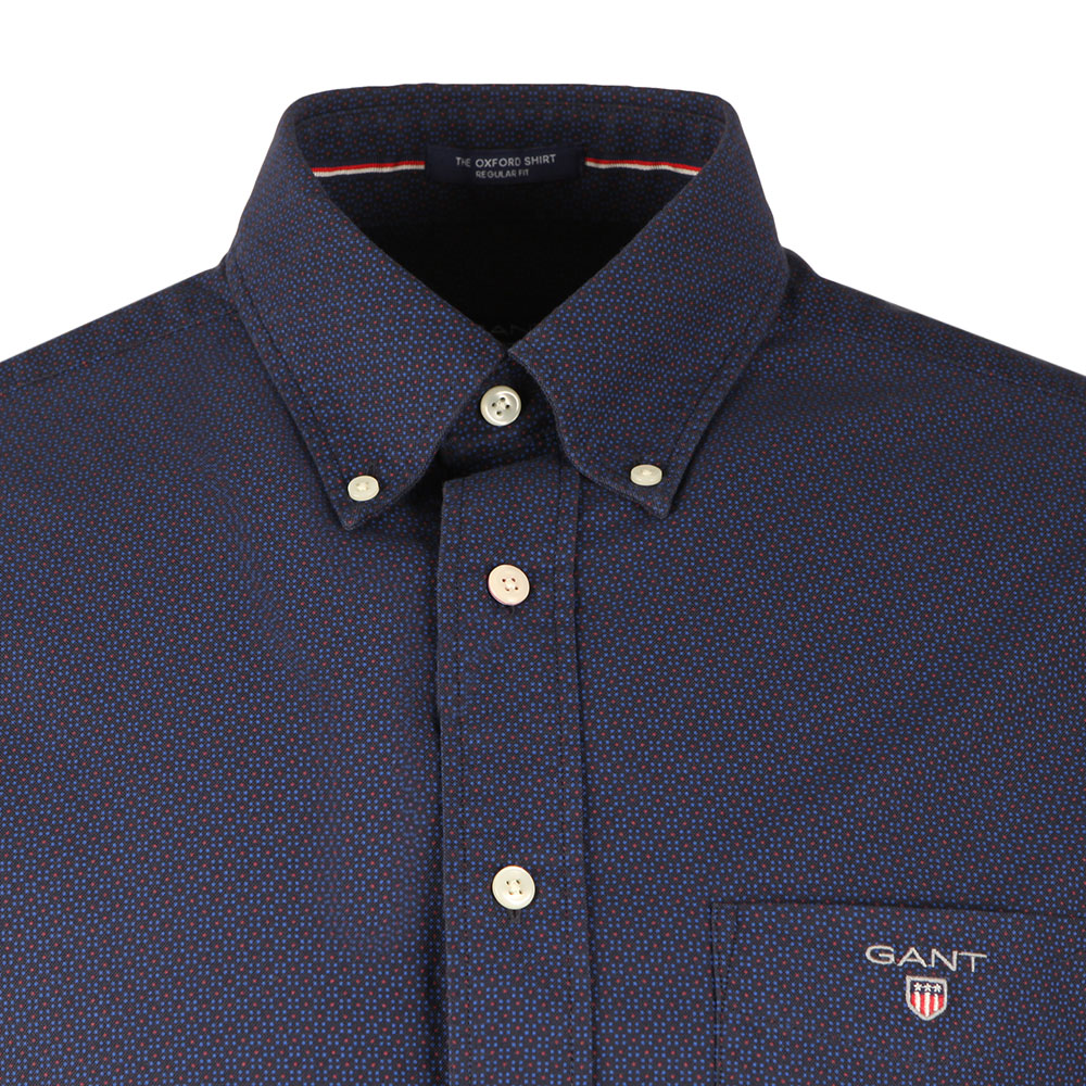 The Printed Oxford Dot LS Shirt main image