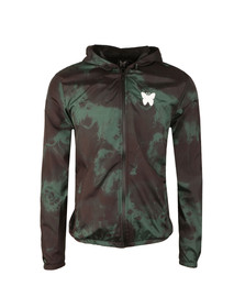 Good For Nothing Mens Green Acid Windrunner