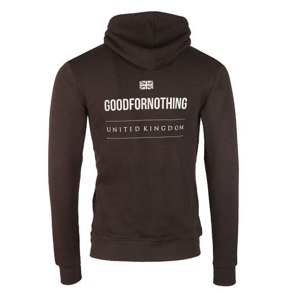 Good For Nothing Mens Black Tour Reflective Hoody main image