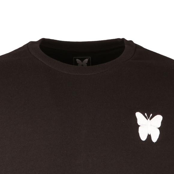 Good For Nothing Mens Black Logo Sweatshirt main image