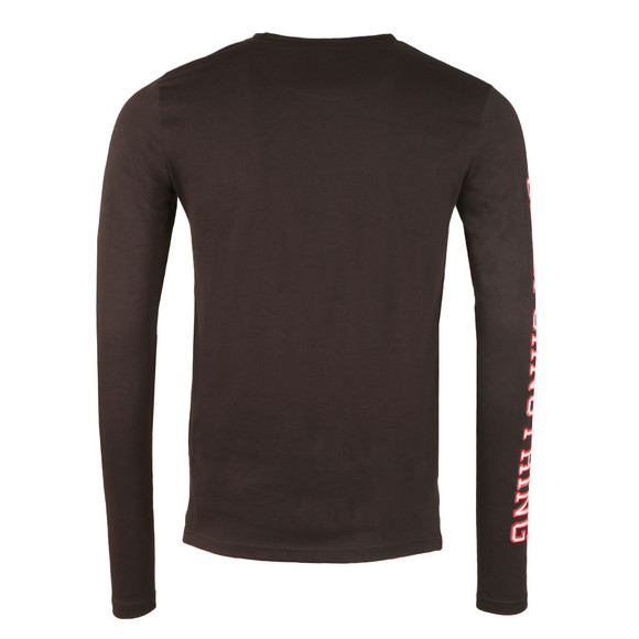 Good For Nothing Mens Black Side Arm Long Sleeve Tee main image
