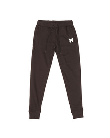 Good For Nothing Mens Black Reflective Logo Scuba Poly Jogger