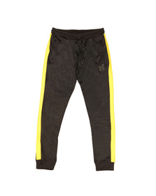 Good For Nothing Mens Black Fitted Joggers