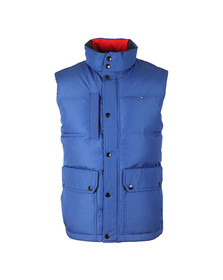 Tommy Hilfiger Mens Blue Down Vest
