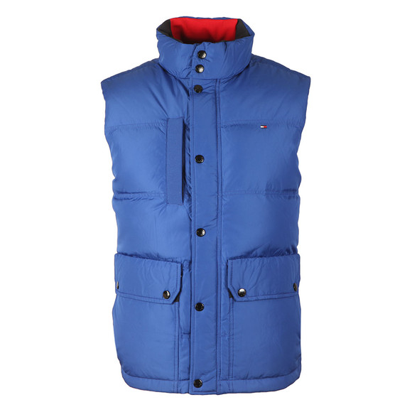 Tommy Hilfiger Mens Blue Down Vest main image