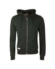 Franklin & Marshall Mens Black Full Zip Fleece Hooded Sweat