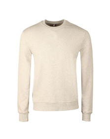 Franklin & Marshall Mens Grey Round Neck Sweat