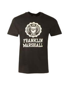 Franklin & Marshall Mens Black Jersey  Tshirt