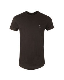Religion Mens Black Plain Crew Neck T-Shirt