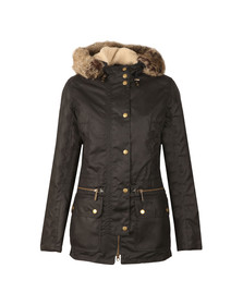 Barbour Lifestyle Womens Blue Kelsall Winter Parka