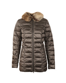 Barbour Lifestyle Womens Grey Munro Quilt
