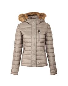 Superdry Womens Comet Luxe Fuji Double Zip Hooded Jacket