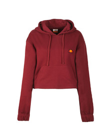 Ellesse Womens Red Michelina Hoody
