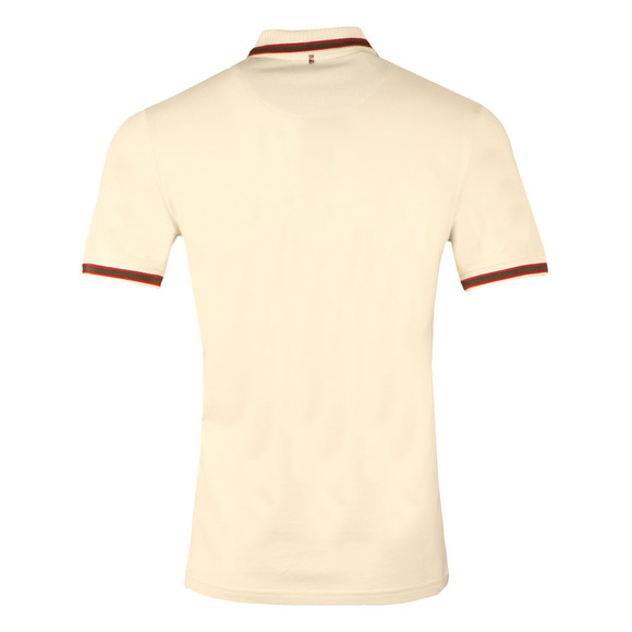 Pretty Green Mens Grey S/S Tipped Polo main image