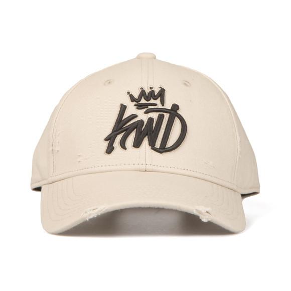 Kings Will Dream Mens Beige Distressed Baseball Cap main image