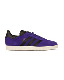 Adidas Originals Mens Purple Gazelle Trainer